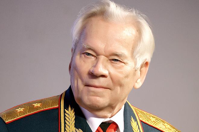 Портрет Михаила Калашникова
