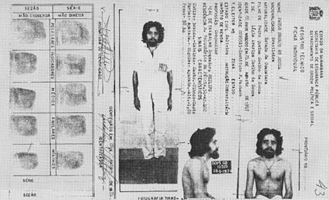 Документы Пауло Коэльо из психиатрической клиники