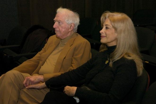 Сидни Шелдон и его третья жена Александра Костофф
