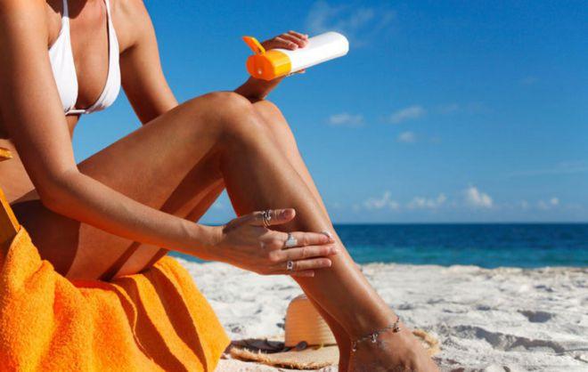 Просроченный солнцезащитный крем
