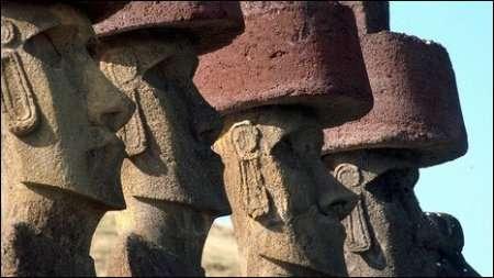 Откуда пришли и куда шли идолы Острова Пасхи?