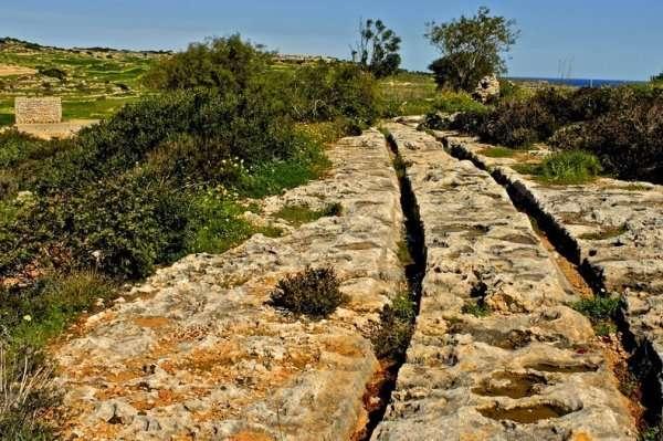 Таинственные следы на Мальте