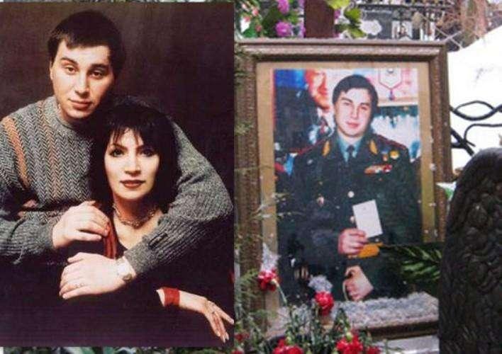 Джуна и ее сын Вахтанг
