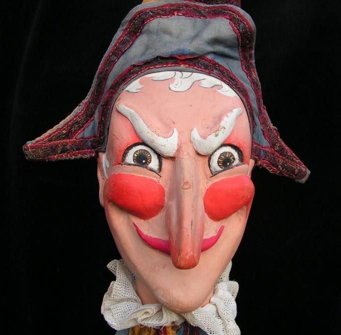 Персонаж французского кукольного театра Полишинель