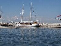 Nadezhda at Quay in Haven Kakumae Tallinn .jpg