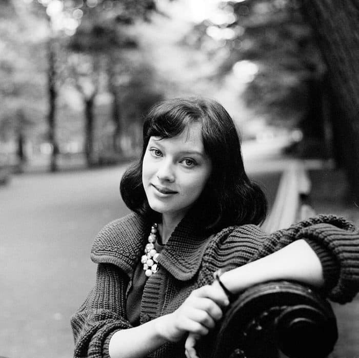 Людмила Савельева в юности