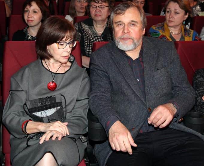 Евгения Симонова с мужем