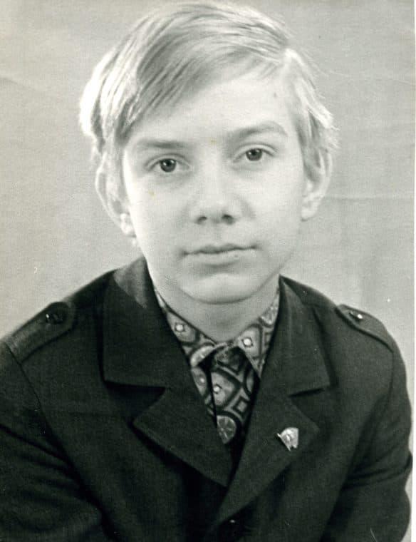 Георгий Тараторкин в детстве