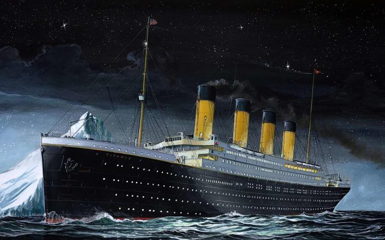 Лобовое столкновение корабля с айсбергом в последний момент было предотвращено