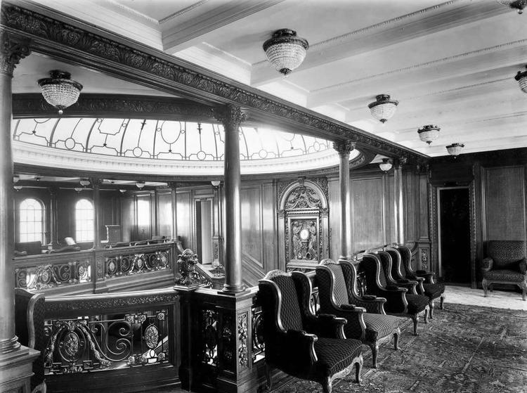 Холл первого класса на «Титанике»