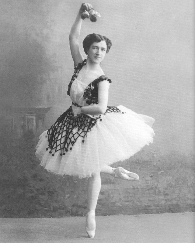Агриппина Ваганова в балете «Эсмеральда», 1910 г.