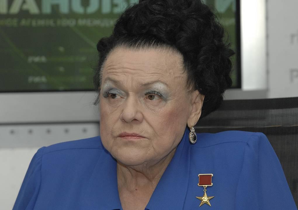 Людмил Зыкина на пресс-конференции, 2008 год Юрий Машков/ТАСС