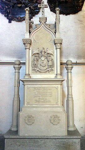 Надгробие в Домском соборе