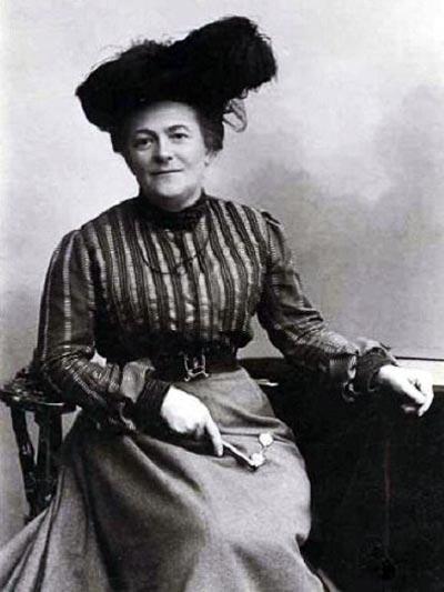 Клара Цеткин. Фото: wikimedia.org