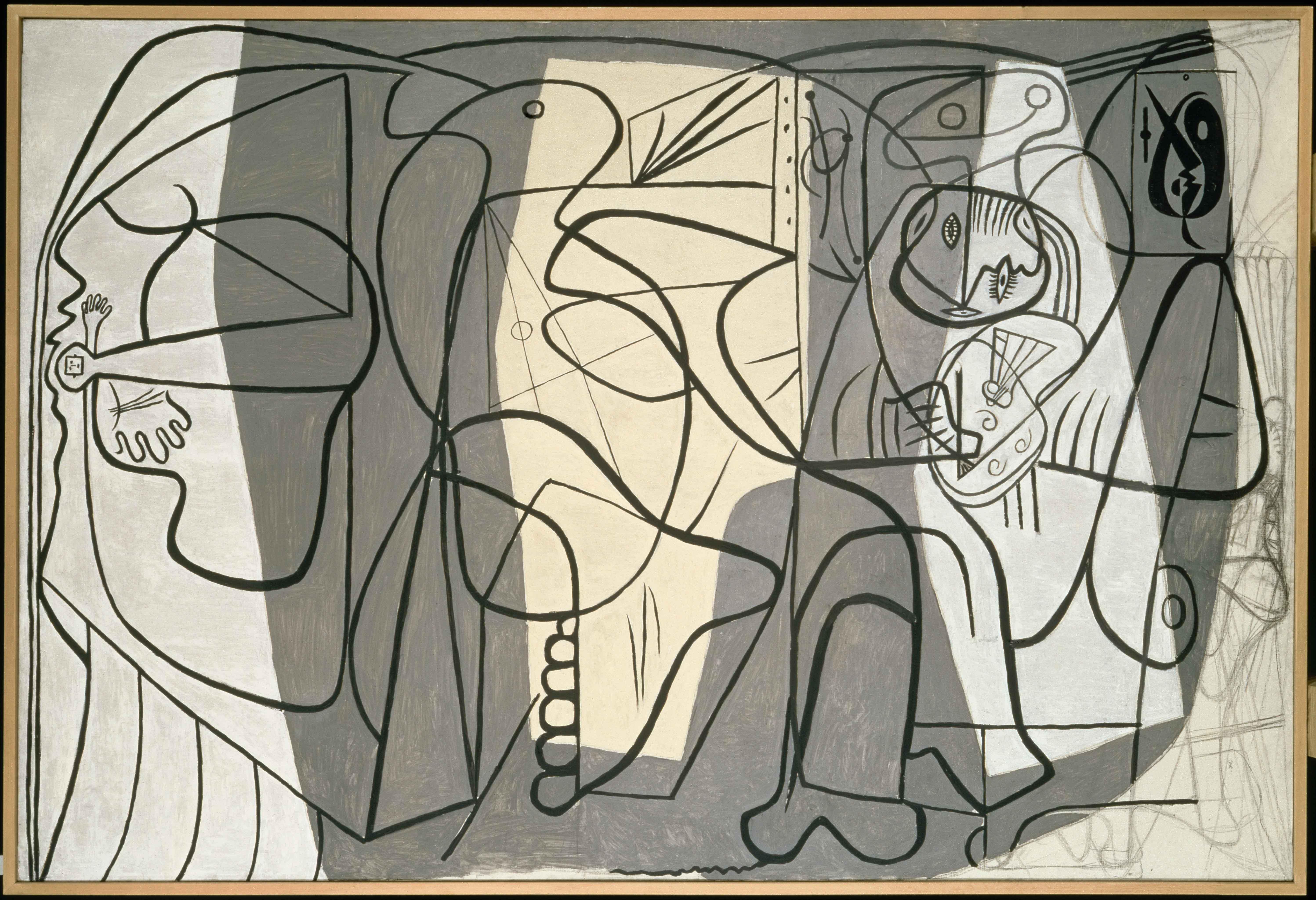 Пабло Пикассо Художник имодель. Париж, 1926. Национальный музей Пикассо, Париж