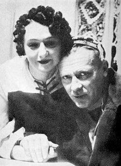 Михаил Булгаков и Елена Сергеевна. 1939 год.