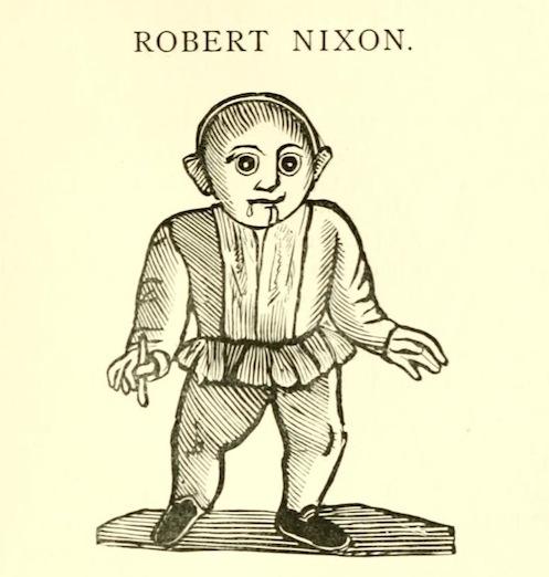 Роберт Никсон: Слабоумный пророк из Чешира (3 фото)