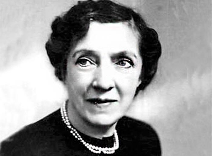 Агриппина Ваганова в старости