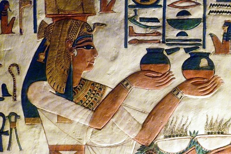 Антибиотики в Древнем Египте