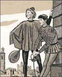 Меркуцио и Бенволио