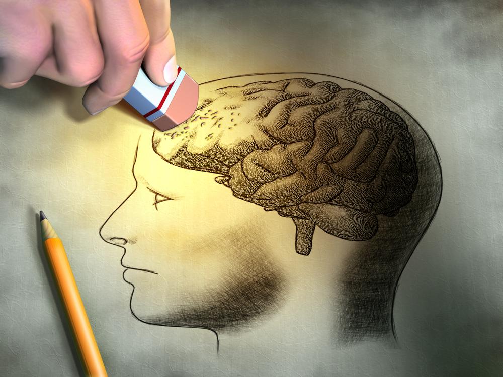 рисунок человеческого мозга