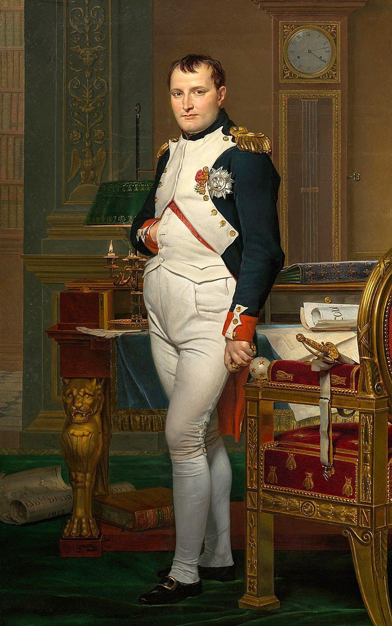 Imperator-Napoleon-v-svoyom-kabinete-v-Tyuilri