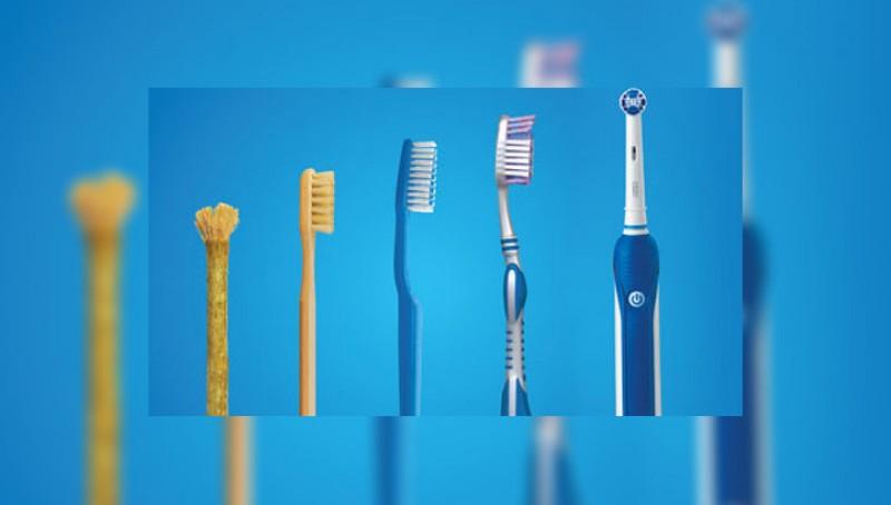 История развития зубной щетки