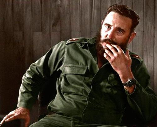 Команданте Фидель Кастро и часы