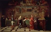Галилей перед судом инквизиции. Картина Жозефа-Николя Робер-Флёри