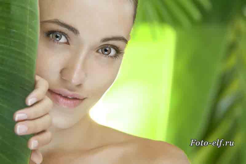 Питание для кожи лица бобовые