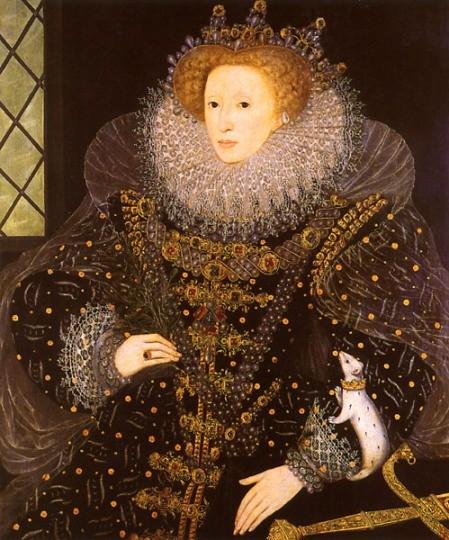 Королева Елизавета Первая