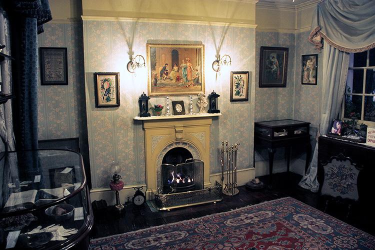 Интерьер Музея Шерлока Холмса в Лондоне