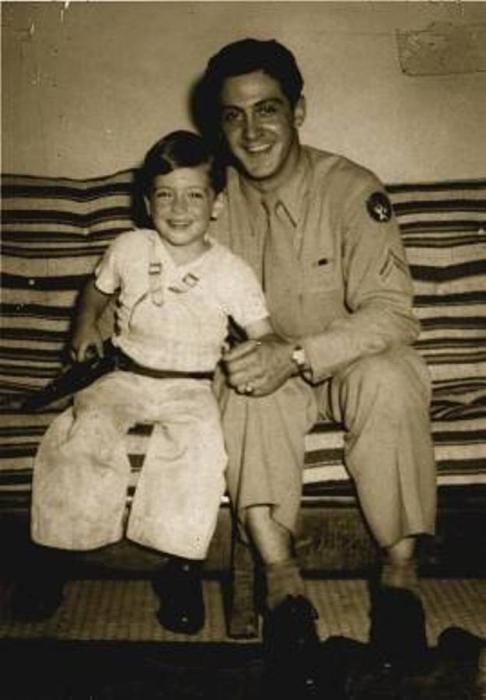 Аль Пачино с отцом