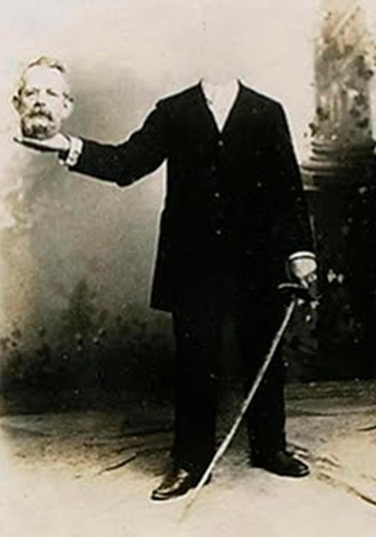 Безголовый портрет 19 века