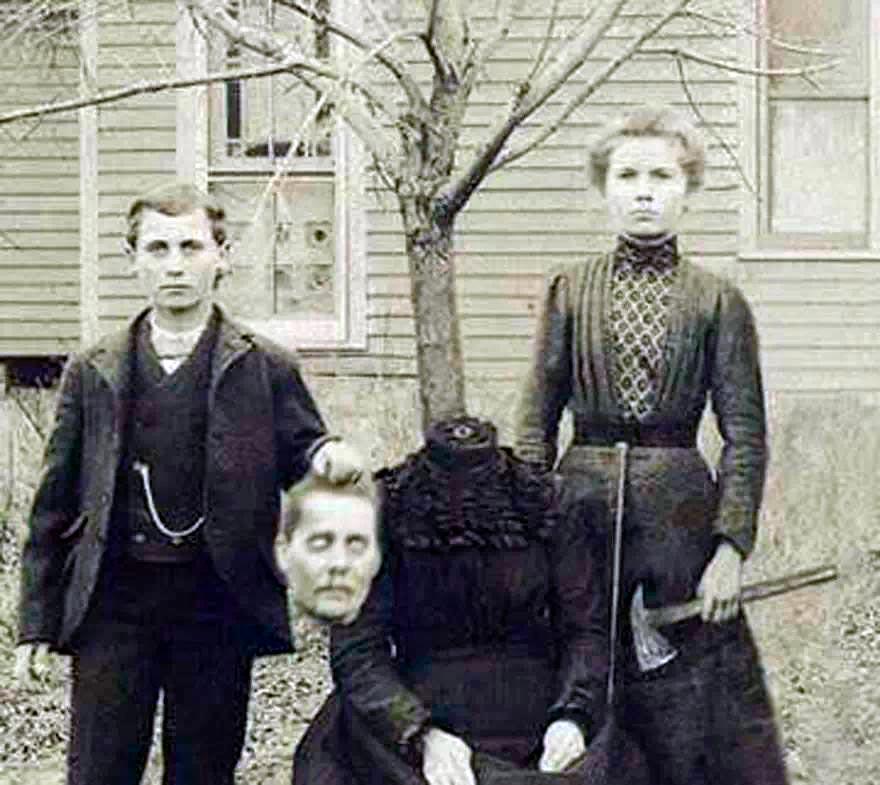 Фотография семьи Баркли