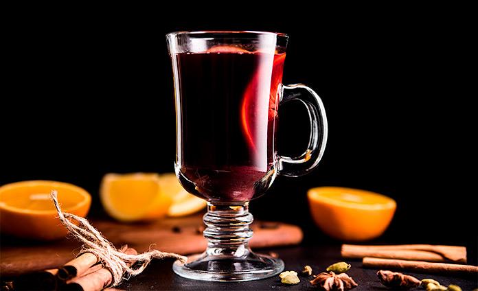 Вишневый глинтвейн: согревающий безалкогольный напиток