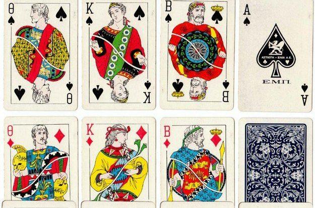 Игральные карты в презент