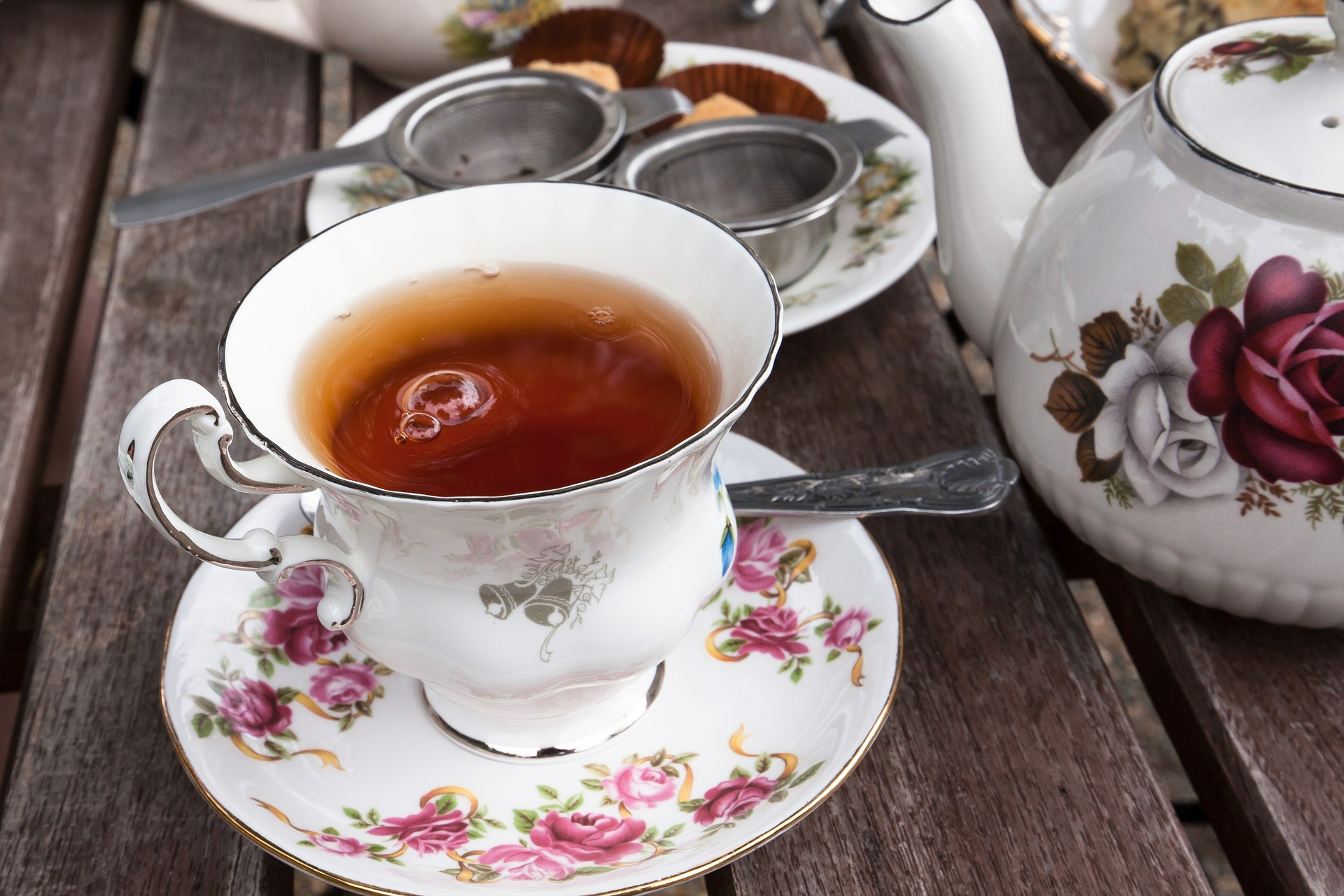 ароматный чай с бергамотом