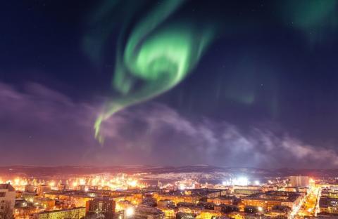 Мурманск в России
