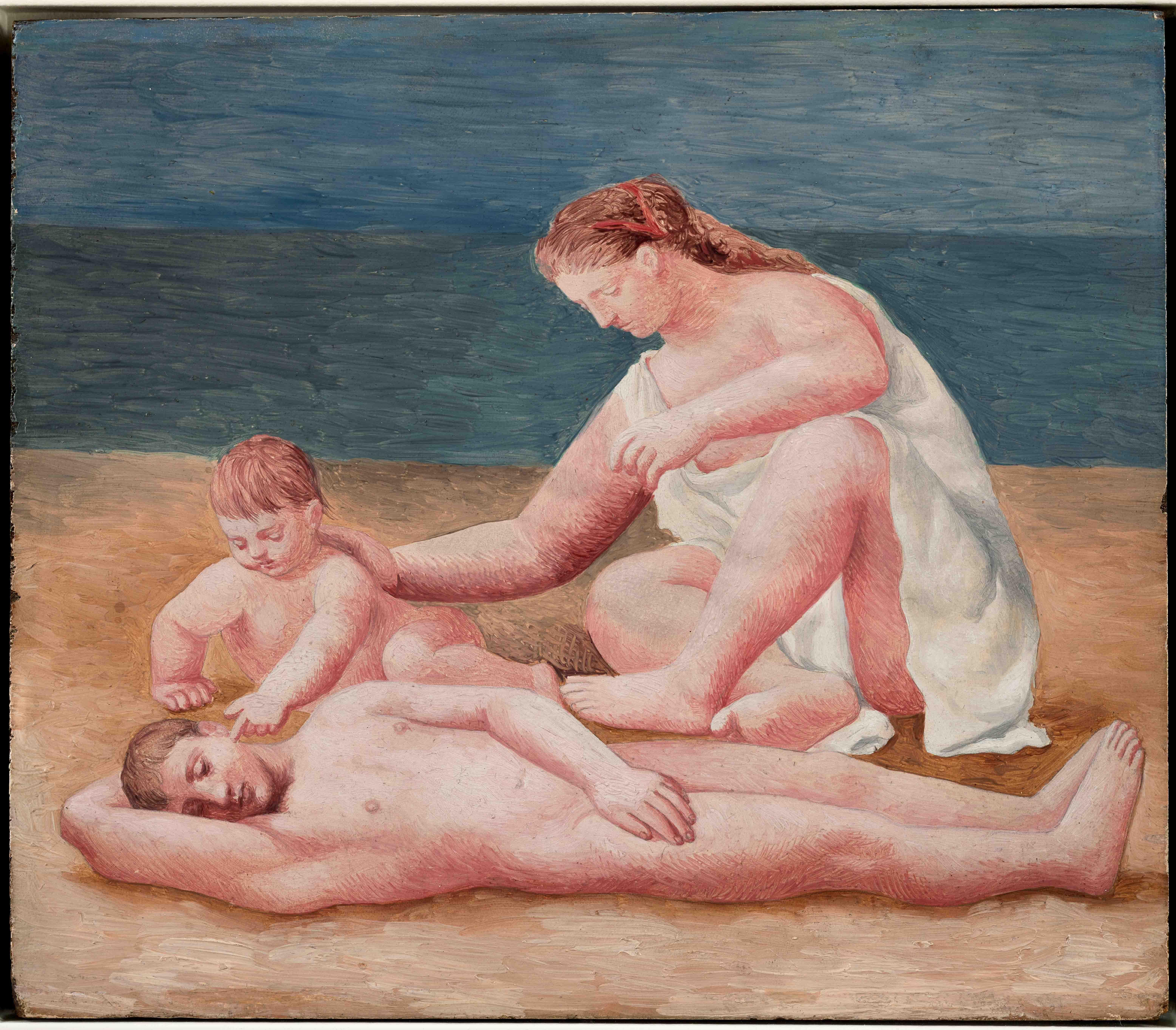 Пабло Пикассо. Семья наберегу моря. Динар, лето 1922 Национальный музей Пикассо, Париж