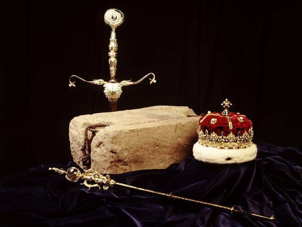 Вальтер Скотт интересные факты - реликвии Шотландии