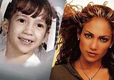 Дженнифер Лопез в детстве