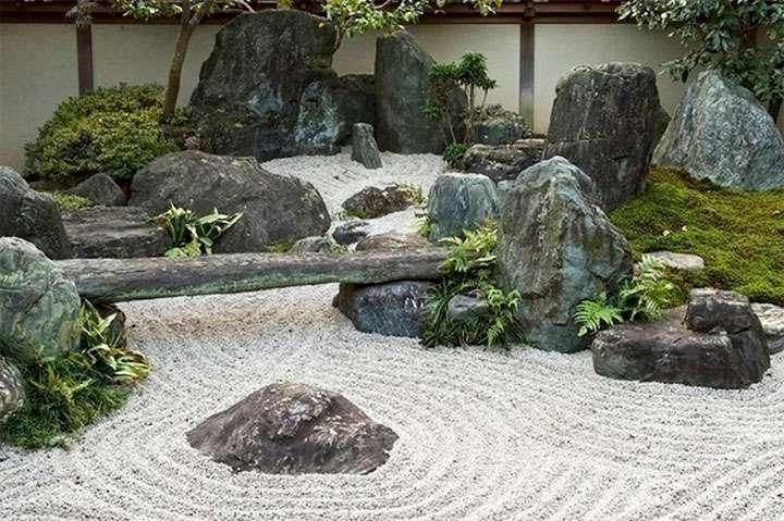 Каменный сад в ландшафтном дизайне – воплощение культуры Востока