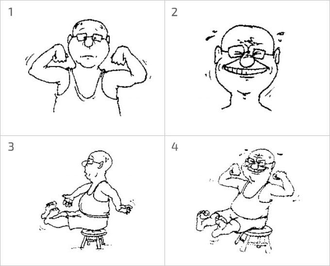 Упражнение «Расслабление через напряжение»