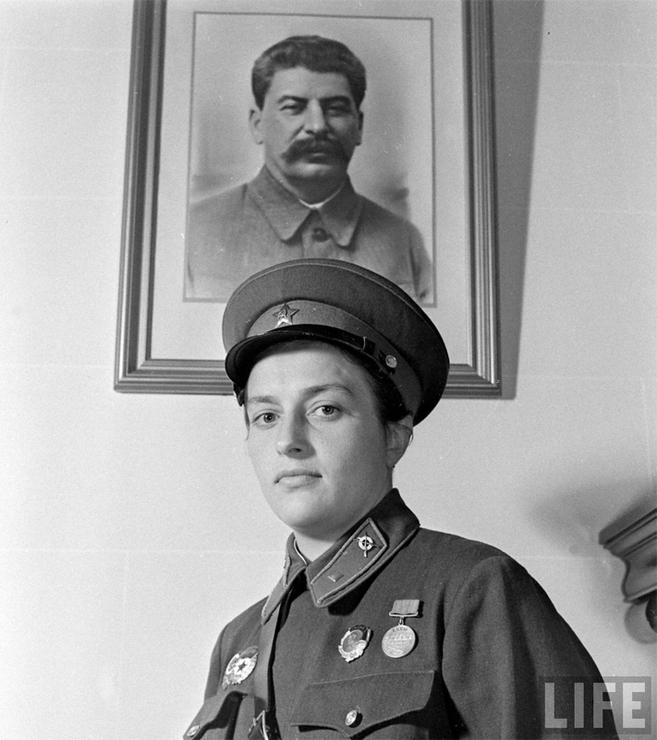 павличенко и Сталин