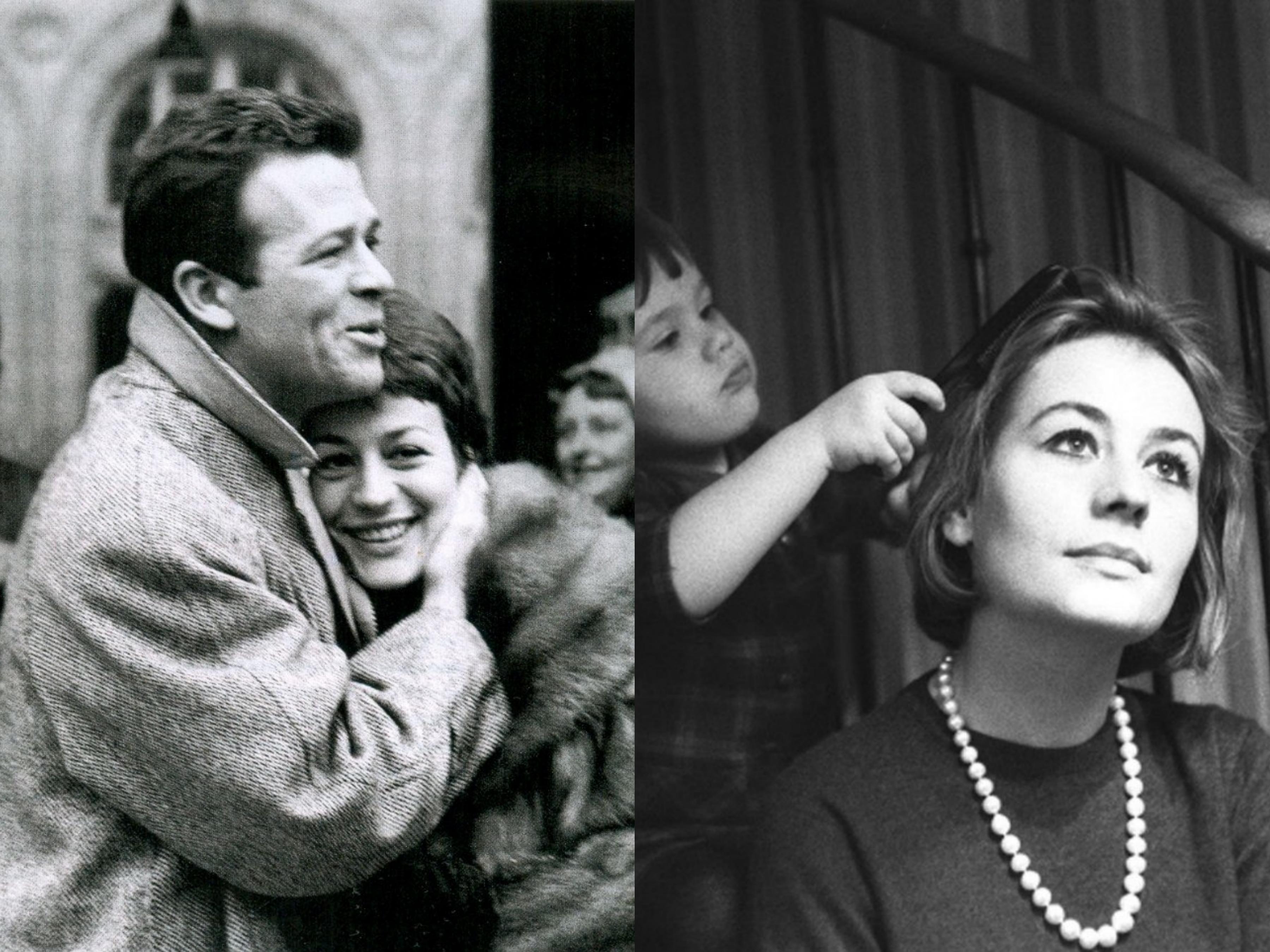 Слева - свадебная фотография Жирардо и Сальватори, справа - Жирардо с дочерью Джулией