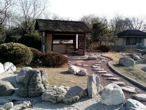 Пример оформления японского сада