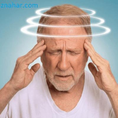 Приступы лёгкого головокружения
