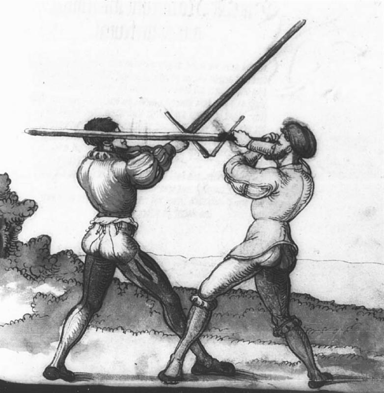 Сражение на двуручных мечах