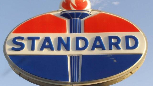 Standard oil логотип